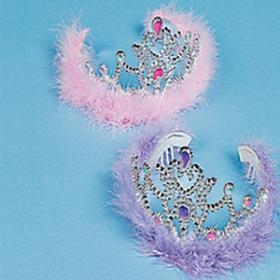 Plastic Princess Tiaras