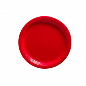 Apple Red Paper Dessert Plates 20ct