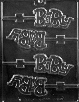 """Baby"" Chocolate Lollipop Molds"