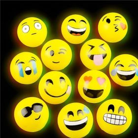 "2"" LIGHT-UP EMOTICON BALL"