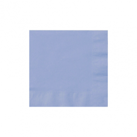 Pastel Blue Beverage Napkins 50Ct