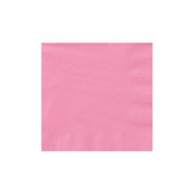 New Pink  Beverage Napkins 50Ct