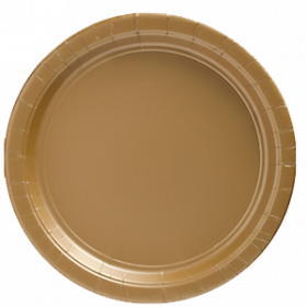 Gold Sparkle Paper Dinner Plates 20ct