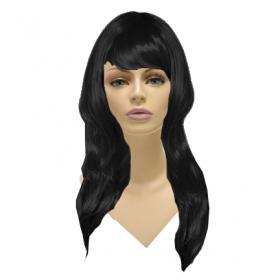 Glamorous Long Wig-Black