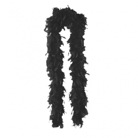 Feather Boa-Black