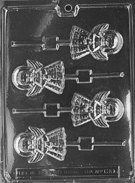 Angel Chocolate Lollipop Mold