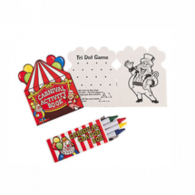 Carnival Activity Book with Crayons (1dz)