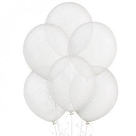 Clear Balloons 15ct
