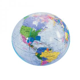 """16"""" Clear Globe Inflate (1dz)"""