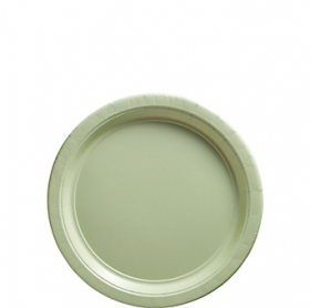 Leaf Green Dessert Plates 20ct