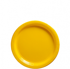 Yellow Sunshine Dessert Plates 20ct