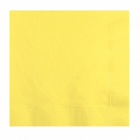 Light Yellow Lunch  Napkins 50Ct