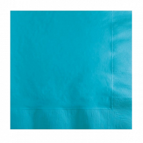 Carribbean Blue Lunch Napkins 50Ct