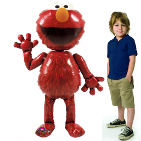 Elmo Jumbo Airwalker Foil  Balloon