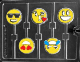 Emoji Movie Inspired Chocolate Lollipop Molds
