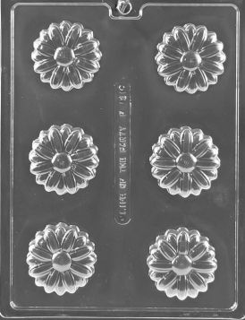 Daisy  Chocolate Candy Molds