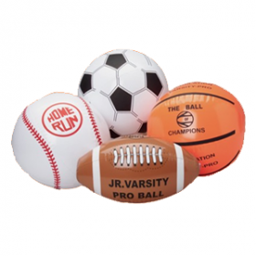 Assorted Sport Ball Inflates
