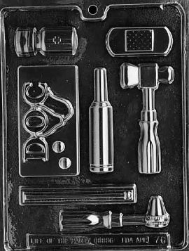 Doctor's Kit Chocolate Mold Set