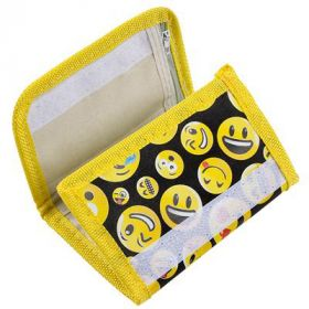 "5""X3"" EMOTICON WALLET"