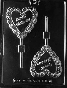 Sweet Sixteen Chocolate Lollipop Mold