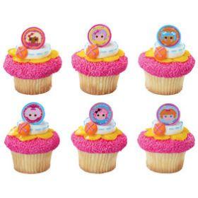 Lalaloopsy Friends Cupcake Rings 6pcs