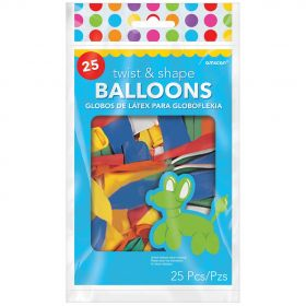 Twist & Shape Balloons - Pack of 144