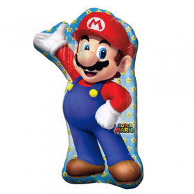Mario Jumbo Foil  Balloon