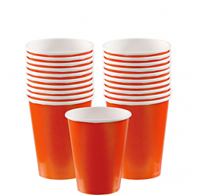Orange Peel Paper Cups 20ct