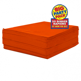 Orange Peel Dinner Napkins 50ct