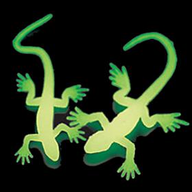 Glow-in-the-Dark Lizards (4doz)