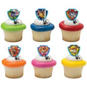 PAW Patrol Cupcake Rings 6pcs