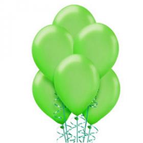 Kiwi Green Pearl Balloons 72ct