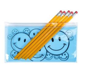 Smile Face Pencil Case 1dz
