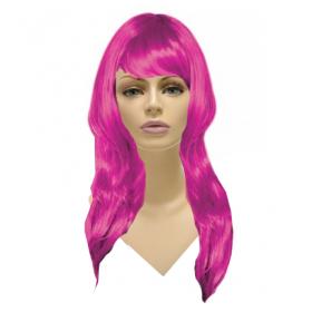 Glamorous Long Wig-Pink