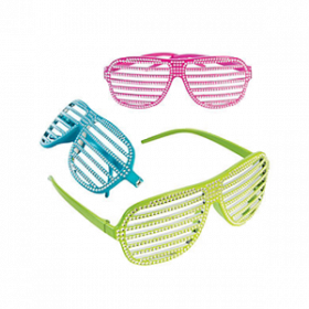 Bling Shutter Shading Glasses (1doz)