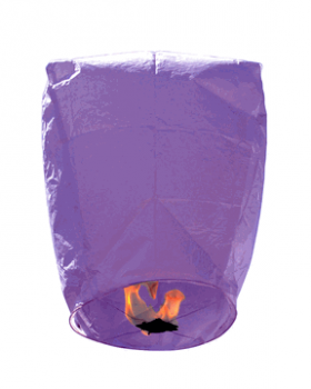 Sky Lantern-Purple