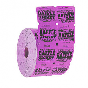 Double Roll Raffle Tickets 1000ct