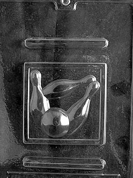 Bowling Chocolate Mold
