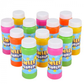 2oz Smile Face Bubbles 1dz