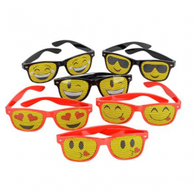 Mesh Emoticon Sunglasses 1dz