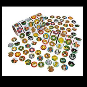 Paper Super Rolls of Stickers Assortment (100pcs/roll)