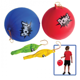 Superhero Punch Balls (1doz)