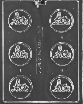 Love Cookie Chocolate Mold