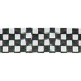 Tyvek Identification Wristbands – Black White Check (100 bands)